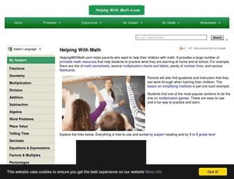 helpingwithmath.com screenshot