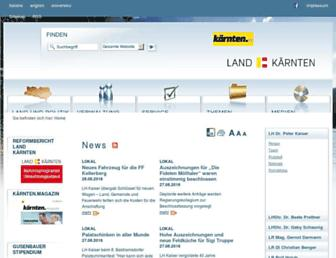 ktn.gv.at screenshot