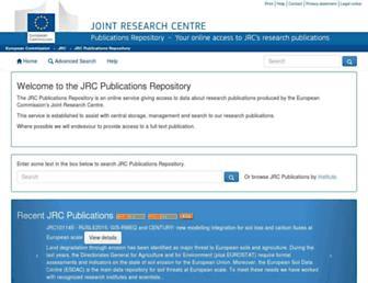 publications.jrc.ec.europa.eu screenshot
