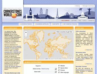 Thumbshot of Cornerstonesworld.com