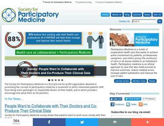 participatorymedicine.org screenshot