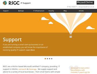 rscc.co.uk screenshot