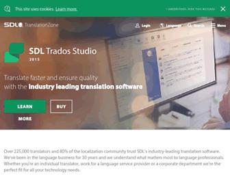 Thumbshot of Trados.com