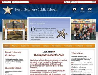 northbellmoreschools.org screenshot