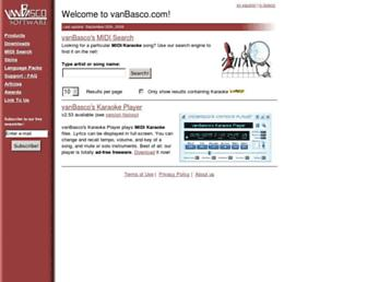 vanbasco.com screenshot