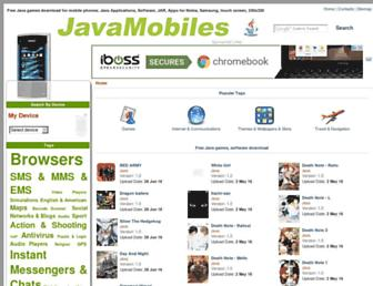 nokia-c3.java-mobiles.com screenshot