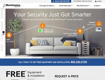 Thumbshot of Monitronics.com