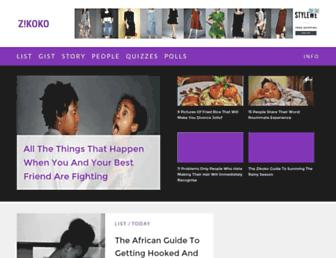 zikoko.com screenshot