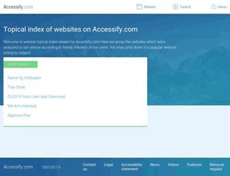 top.accessify.com screenshot