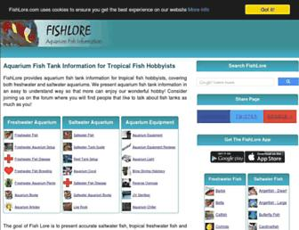 Thumbshot of Fishlore.com