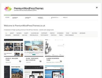premiumwordpressthemes.co.uk screenshot