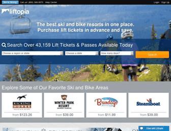 Thumbshot of Liftopia.com