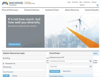 mackenzieinvestments.com screenshot