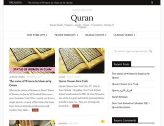 qurannyc.com screenshot