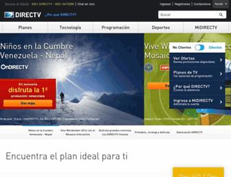 Thumbshot of Directv.com.ve