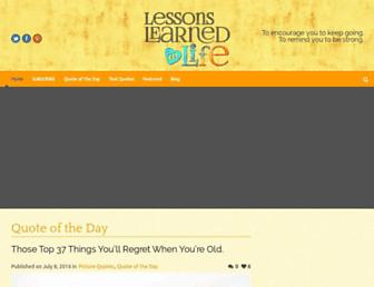 Thumbshot of Lessonslearnedinlife.com