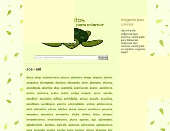 dibujosbonitos.com screenshot