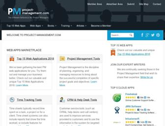 project-management.com screenshot
