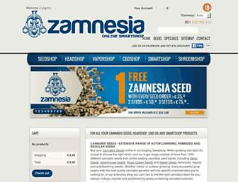 Thumbshot of Zamnesia.com