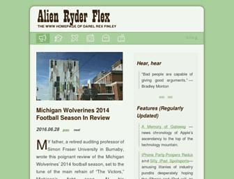 Thumbshot of Alienryderflex.com