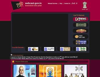 Thumbshot of Webcast.gov.in