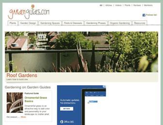 gardenguides.com screenshot