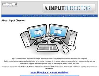 Main page screenshot of caminaelautor.org