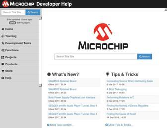 microchipdeveloper.com screenshot