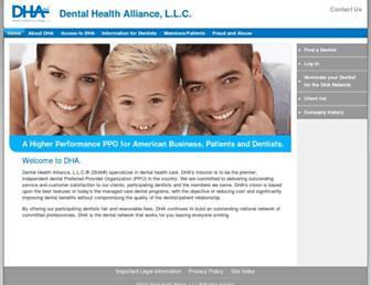 dha.com screenshot