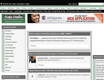 naijadailies.com screenshot