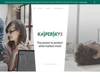 kaspersky.com.au screenshot