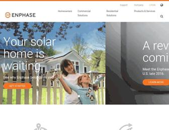 Thumbshot of Enphase.com