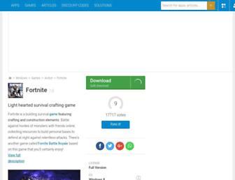 fortnite.en.softonic.com screenshot