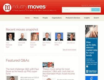 industrymoves.com screenshot