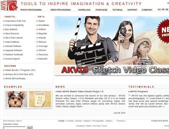 akvis.com screenshot