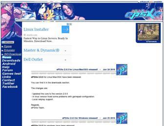 epsxe.com screenshot