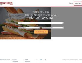 Thumbshot of Yemekhatti.com