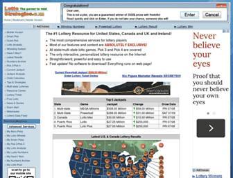 Thumbshot of Lottostrategies.com