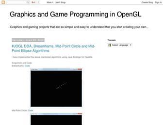 cglabprojects.blogspot.com screenshot