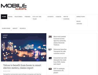 mobileeurope.co.uk screenshot
