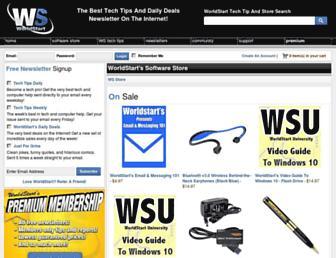 store.worldstart.com screenshot