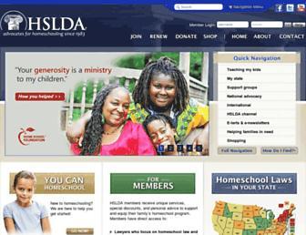 Thumbshot of Hslda.org