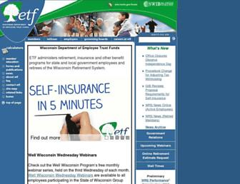etf.wi.gov screenshot