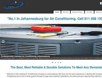 airconditioningjohannesburg.com screenshot