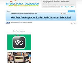 Thumbshot of Flashvideodownloader.org