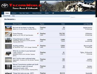 tacomaworld.com screenshot