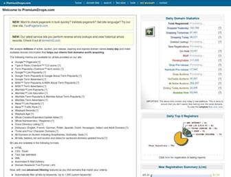 Thumbshot of Premiumdrops.com