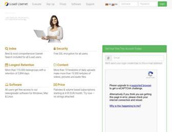 iload-usenet.com screenshot