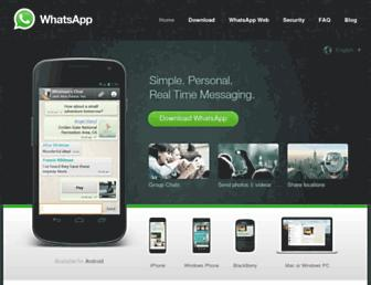 Thumbshot of Whatsapp.com