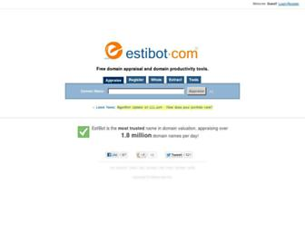 Thumbshot of Estibot.com